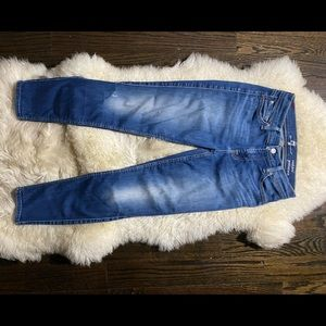 7 for all mankind cropped guenevere jeans